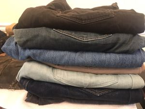 Jeans, Pants, denim, shirts, polos, leather bags for Sale in Stockbridge, GA