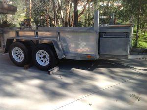 15' Utility Trailer w/work box & Ramp for Sale in El Cajon, CA