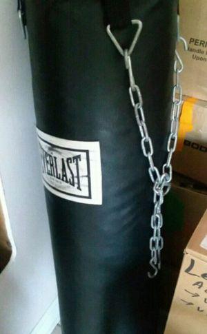 Everlast punching bag for Sale in Roanoke, VA