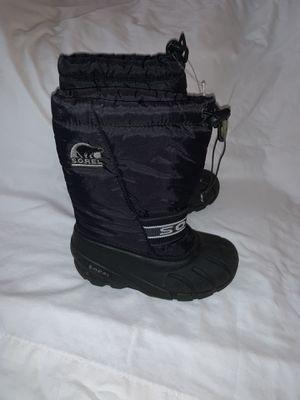 Sorel snow boots size 13 kids for Sale in San Fernando, CA