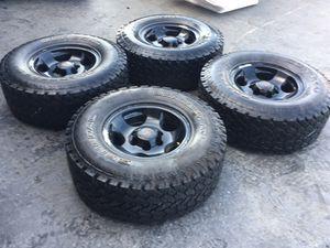 "TACOMA / tundra / FJ 16"" wheels plus tires LT285-75-16 GENERAL for Sale in San Diego, CA"