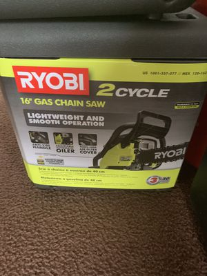 "New Ryobi 18"" Chainsaw for Sale in Lorain, OH"