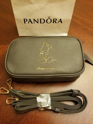 New Authentic Pandora Disney's Mickey Mouse Crossbody- Wristlet Bag for Sale in Beach Park, IL
