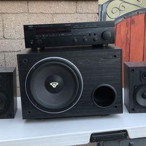 Yamaha Home Stereo & Cerwin Vega Speaker Set for Sale in La Habra, CA