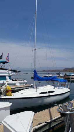 89 26' macgregor sailboats/trailer for Sale in Los Angeles, CA
