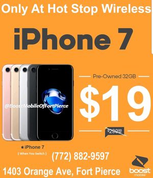 IPHONE 7 for Sale in Fort Pierce, FL