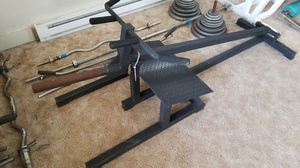 T-Bar Row Machine (Weights) for Sale in Tacoma, WA