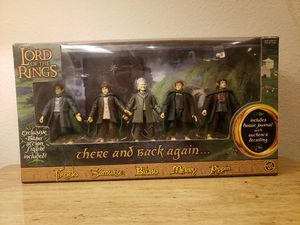 Lord Of The Rings Gift Set Set Of 5 Action LOTR Figures for Sale in Los Angeles, CA
