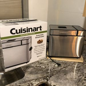 Cuisinart stainless steel 1-2 pound bread maker for Sale in Livonia, MI