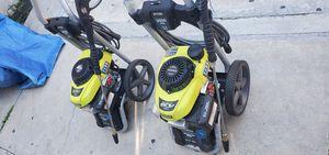 Ryobi/ Honda gcv 160 3000 psi pressure washer like new bring $240 (EACH) (CADA UNA) for Sale in Los Angeles, CA