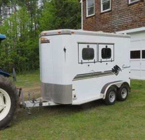 THE BEST 2 HORSE TRAILER FOR SALE.1000 for Sale in Independence, KS
