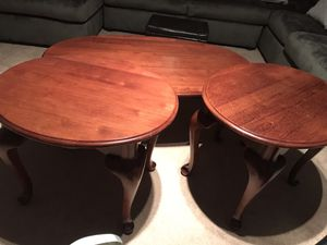 Wooden coffee table with two sides for Sale in Sterling, VA