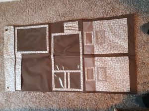 Changing table, wall organizer for Sale in Pflugerville, TX