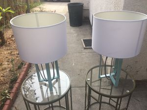 Lamps - 10$ each or 4 for 30$ for Sale in Los Angeles, CA