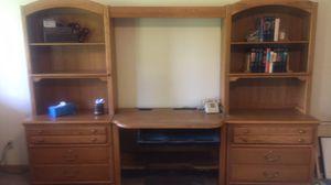 Oak office furniture for Sale in Parker, CO