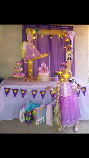 Rapunzel Dress size 4/6 for Sale in Phoenix, AZ