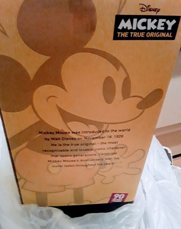 Mickey Mouse Collectable Doll