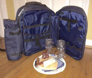 Picnic at Ascot - Eco Picnic Backpack for Two for Sale in Marietta, GA