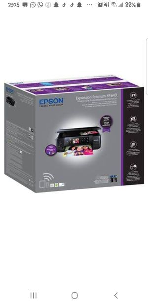 Epson Expression Premium XP 640 Printer for Sale in Mansfield, TX