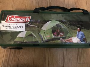 Coleman tent for Sale in Rancho Cucamonga, CA