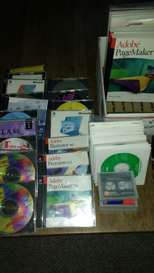 Vintage Software - Price Reduced! for Sale in Fresno, CA