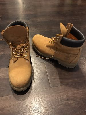 Timberland boots 10.5 (fits 12) for Sale in Los Angeles, CA