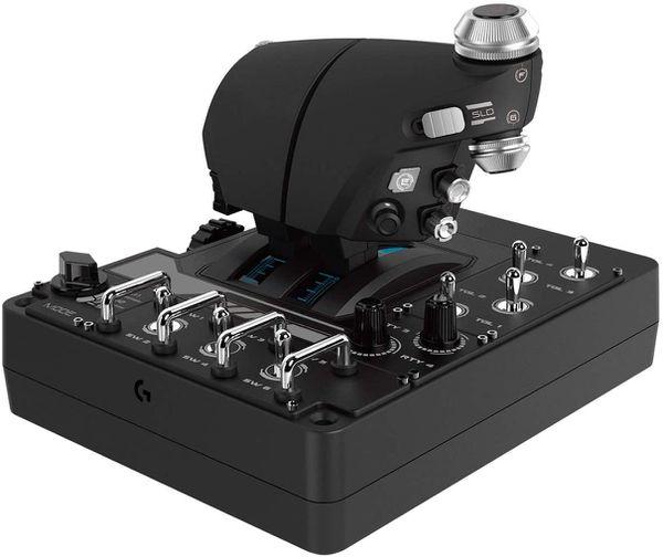 Logitech G x56 RGB H.O.T.A.S Joystick and throttle