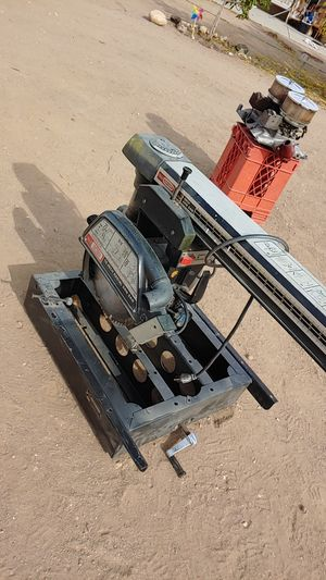 """10"""" radial arm saw for Sale in Phelan, CA"""