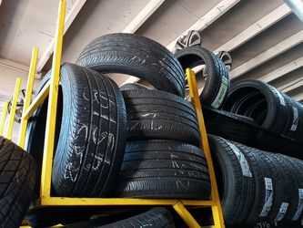 Continental 235-45-19 Tire Set 75% To 80% Life , Best Offer 180 includes installation and balancing , English and Spanish Spoken for Sale in Paramount,  CA