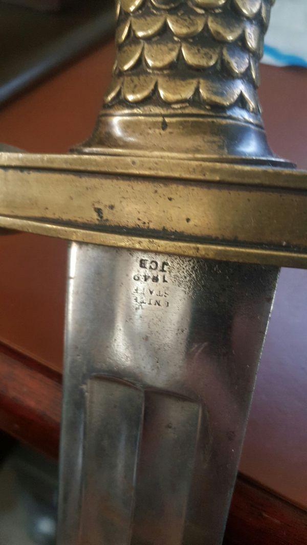Civil War sword %real
