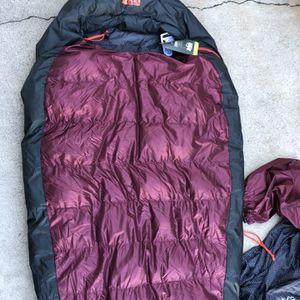 REI, Marmot, The North Face, Mountain Hardwear , Down Sleeping Bag Nwt for Sale in San Diego, CA