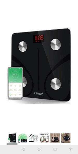 Bluetooth Body Fat Scale Smart BMI Scale Digital Bathroom Wireless Weight Scale for Sale in Bellevue, WA