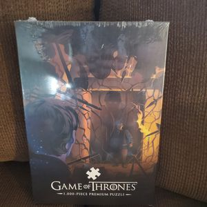 """Game of Thrones 1,000 Pc Puzzle """"Hold the Door"""" for Sale in Barrington, IL"""