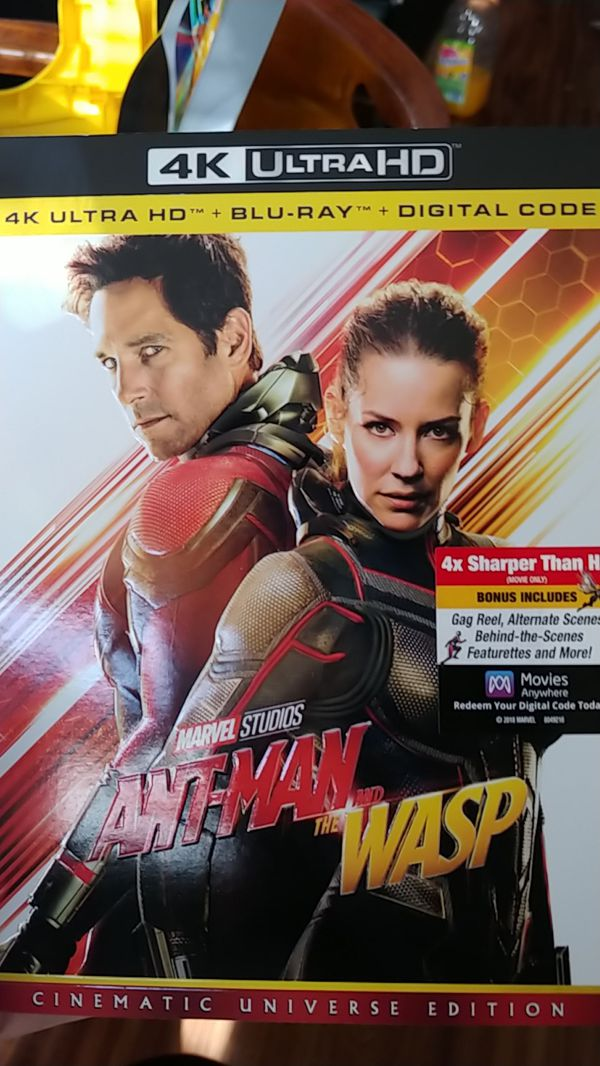 Ant-Man and the wasp movie blueray brand new
