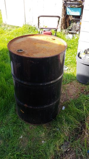 55 gallon drum inside is clean for Sale in Santa Ana, CA