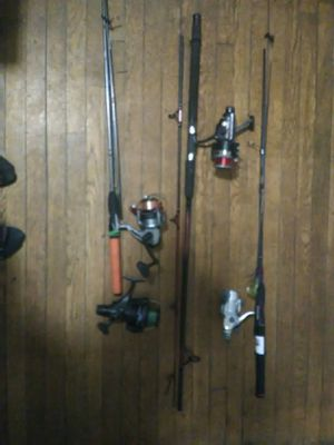 Assorted fishing gear for Sale in Chelsea, MA
