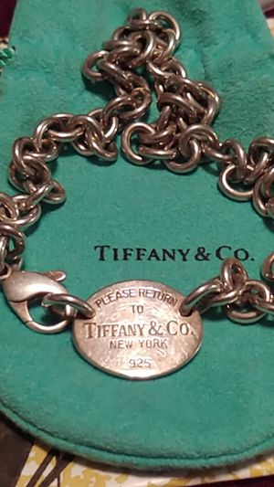 Tiffany & co dog tag 16 inch NECKLACE for Sale in Tampa, FL