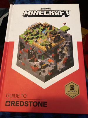 Minecraft guide to redstone for Sale in Dallas, TX