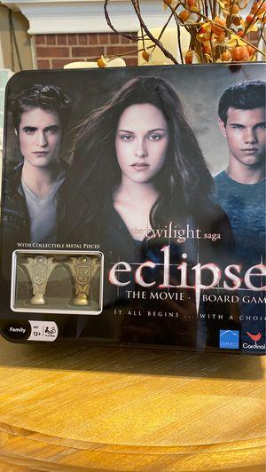 The Twilight saga: Eclipse board game for Sale in Dallas, TX
