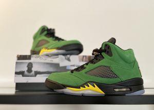 Jordan 5 'Oregon' (Size 8M) for Sale in Clarksville, TN