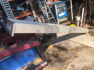 Weather Guard Aluminum Dimond plate Van or lumber rack storage box Conduit Carrier pipe for Sale in Brea, CA