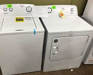 Amana Top Load Washer and Electric Dryer Set ‼️ CPW for Sale in Hawthorne, CA