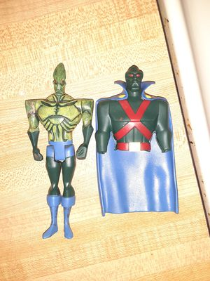 Collectable Vintage Martian Manhunter Action Figure Justice League for Sale in Demorest, GA