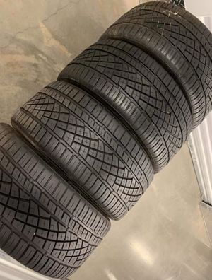 255 35 19 Continental dws06 set of 4 tires for Sale in Manassas, VA