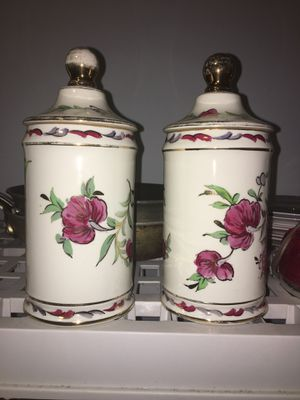 Matching ceramic storage containers for Sale in Worcester, MA