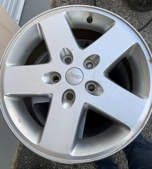 """Set of 4 Jeep 17"""" Rims with TPS sensor for Sale in Ballwin, MO"""