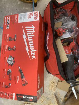 Milwaukee 6 piece combo kit for Sale in Edison, NJ