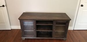 Rustic 5ft wood brown tv stand for Sale in Whittier, CA