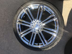Cruiser Alloy 916MB Obsession Wheel 20 inch Rims. for Sale in Lincoln, NE