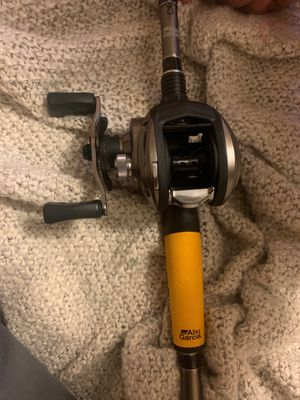 Abu Garcia Baitcaster Fishing Rod for Sale in Mocksville, NC